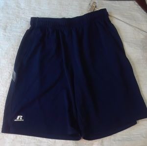 Russell Large BASKETBALL SHORTS MENS NAVY BLUE
